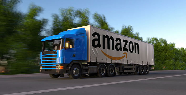 Amazon-truck-representing-Amazon-Logistics