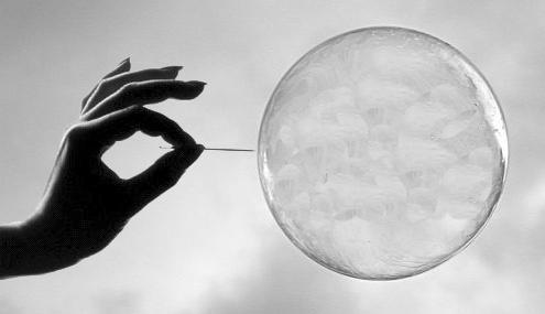 bursting-bubble