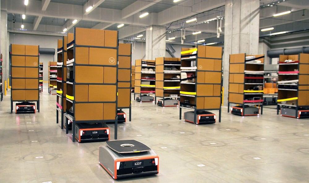 greyorange-warehouse-robots