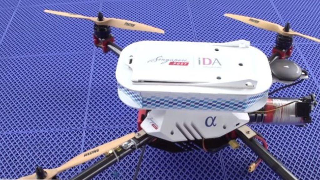 Singapore's Drone