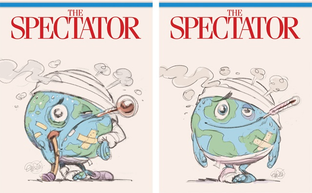 Cover art for The Spectator -- Illustration © Anton Emdin 2014. All rights reserved.