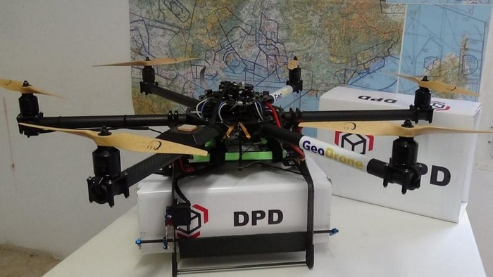 France's Geopost Drone