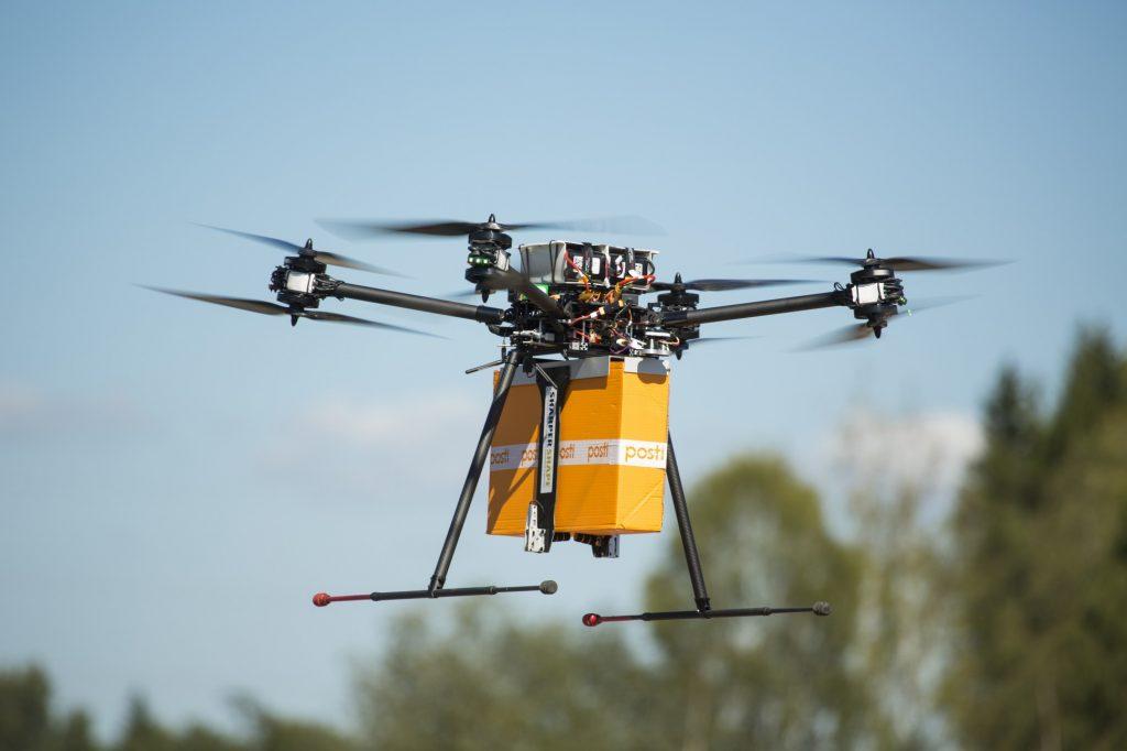 Finland's Posti Drone